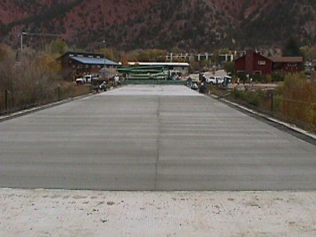 27th Street New Concrete Bridge Deck September 2001